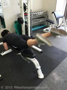 Rikochan glutes workout